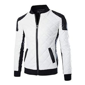 Leather Jacket For Men - WhiteHurry up! Sales Ends in