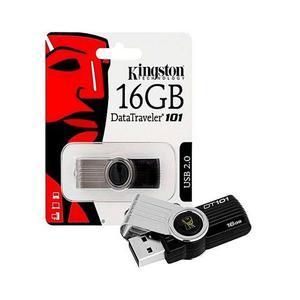 Kingston - 2.0 USB Flash Drive - 16GB - Black - Brand WarrantyHurry up! Sales Ends in