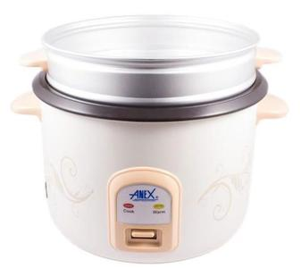 Anex - Deluxe Rice Cooker - AG-2023 - WhiteHurry up! Sales Ends in