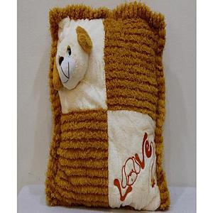 Stuffed Puppy Cushion - BrownHurry up! Sales Ends in
