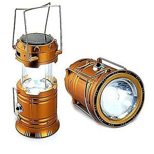 Solar Led Flashlight Camping Lights Rechargeable Lantern - GoldenHurry up! Sales Ends in