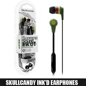 SkullCandy - Supreme Sound Ink'D Earphones - Code: 2212 - BlackHurry up! Sales Ends in