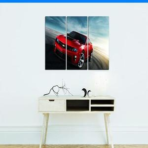 Bed n Shines - Digitally Printed Framed Print Wall Frames 3 Pieces set Canvas - MulticolorHurry up! Sales Ends in