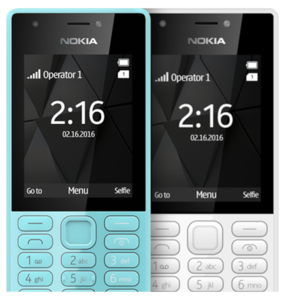 Nokia - 216 Dual-Sim Phone - BlueHurry up! Sales Ends in