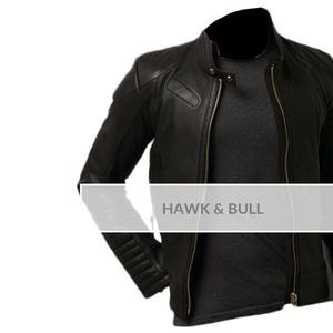 Old School Stylish Faux Leather Jacket 13 OTF - BlackHurry up! Sales Ends in