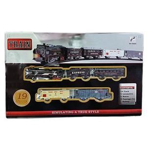Battery Operated Big Toy Train - 19026C - BlackHurry up! Sales Ends in