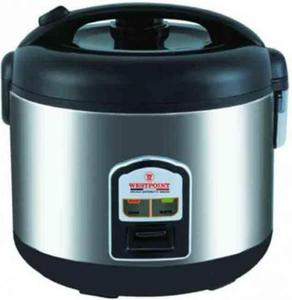 Westpoint - Rice Cooker - WF-5250 - Silver & BlackHurry up! Sales Ends in