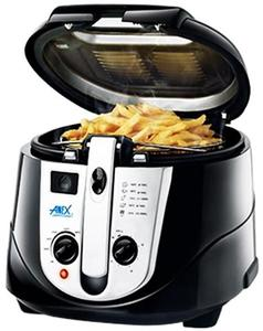 Anex - Deluxe Deep Fryer - AG-2014 - BlackHurry up! Sales Ends in