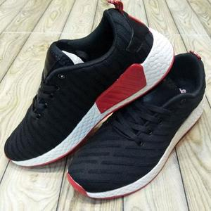 Running Track Shoes For Men - BlackHurry up! Sales Ends in