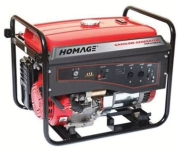 Homage - Generator - 2.8 KVA - HGR-2.80 - Black & RedHurry up! Sales Ends in