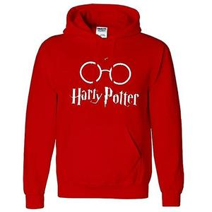 Onshoponline - Cotton Printed Harry Potter Hoodie For Men - RedHurry up! Sales Ends in