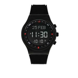 AlphaTronix - Al-Fajr Youth Plastic Watch - BlackHurry up! Sales Ends in