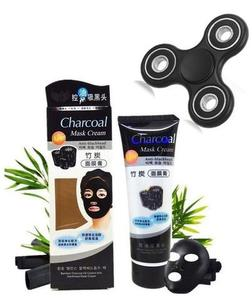 My Deals Bazaar - Charcoal peel Off Mask With Fidget Spinner - BlackHurry up! Sales Ends in