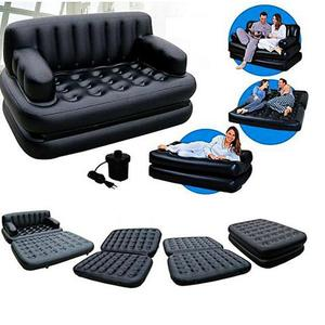 5 In 1 Sofa Bed - BlackHurry up! Sales Ends in