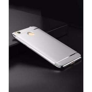 The SpeedGrade - 3Piece Xiaomi Redmi 4X Electroplated Anti Shock Ultra Thin Bumper Case - Matte SilverHurry up! Sales Ends in