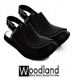 Pearl Peshawari Sandal For Men - BlackHurry up! Sales Ends in