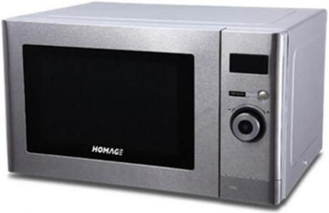 HOMAGE -Microwave Oven with Grill HDG2515SS - SilverHurry up! Sales Ends in