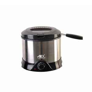 Anex - Deep Fryer - AG-2015 - Silver & BlackHurry up! Sales Ends in