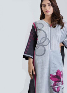 Bonanza Satrangi Printed Lawn Unstitched Kurties Bold Accent 02 - Spring / Summer Collection