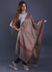 Sanaulla Exclusive Range Textured Pashmina Shawl 39 - Formal Collection