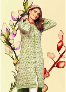 Gul Ahmed Printed Lawn Unstitched Kurties GAB19L SL-653 - Spring / Summer Collection