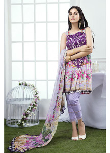 Gulaal Embroidered Lawn Unstitched 3 Piece Suit GL17M 05