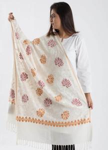Sanaulla Exclusive Range Textured Pashmina Shawl 71 - Kashmiri Shawls