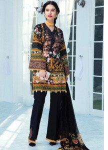Gulaal Embroidered Lawn Unstitched 3 Piece Suit GL18L 09 - Spring / Summer Collection