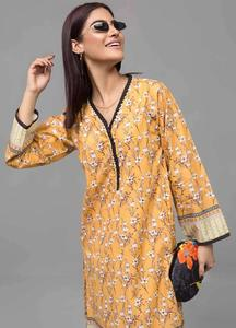 Gul Ahmed Printed Cotton Unstitched Kurties GAB19-L3 SL-759 - Mid Summer Collection