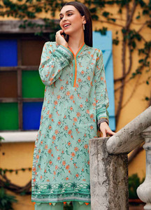 Gul Ahmed Printed Lawn Unstitched Kurties GBC19MFL SL 616 - Spring Summer Collection