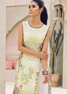 Cross Stitch Embroidered Lawn Unstitched Kurties CS18-L2 19 - Spring / Summer Collection