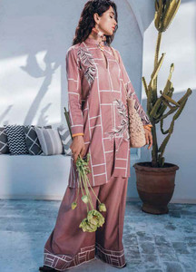 Cross Stitch Embroidered Lawn Unstitched 2 Piece Suit CS19-L2 16 NIRVANA FILIGREE - Spring / Summer Collection