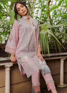 fada049844 Sobia Nazir Embroidered Lawn Unstitched 3 Piece Suit SN19L 8B - Spring / Summer  Collection