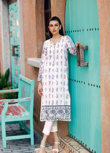 Gul Ahmed Printed Lawn Unstitched Kurties GBC19MFL SL 617 - Spring Summer Collection