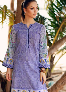 Gul Ahmed Printed Lawn Unstitched Kurties GBC19MFL SL 589 - Spring Summer Collection
