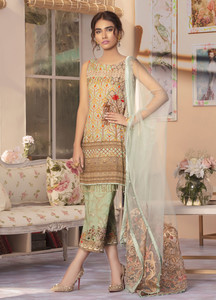 Gulaal Embroidered Lawn Unstitched 3 Piece Suit GL19C V1 02 - Lawn Collection