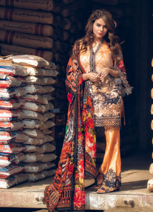 Gulaal Embroidered Lawn Unstitched 3 Piece Suit GL19C V1 04 - Lawn Collection