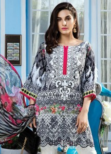 Gulaal Embroidered Lawn Unstitched 3 Piece Suit GL18L2 03 - Spring / Summer Collection