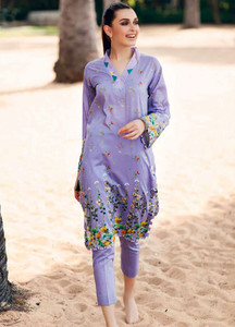 Gul Ahmed Printed Lawn Unstitched Kurties GBC19MFL SL 606 - Spring Summer Collection