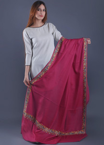 Sanaulla Exclusive Range Textured Pashmina Shawl 42 - Formal Collection