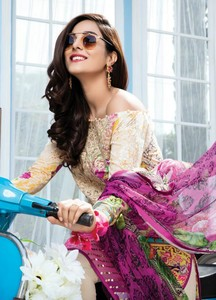 Gulaal Embroidered Lawn Unstitched 3 Piece Suit GL18L2 02 - Spring / Summer Collection