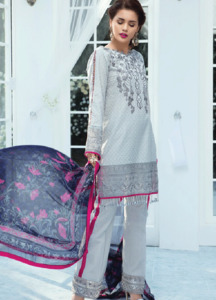Gulaal Embroidered Lawn Unstitched 3 Piece Suit GL18L 04 - Spring / Summer Collection