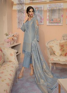 Gulaal Embroidered Lawn Unstitched 3 Piece Suit GL19C V1 01 - Lawn Collection
