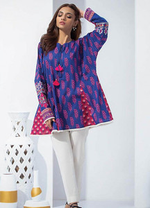 Orient Textile Embroidered Karandi Unstitched Kurties OT18W 235A Booti - Winter Collection