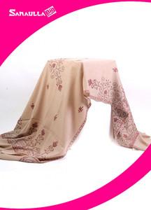 Sanaulla Exclusive Range Textured Pashmina Shawl 69 - Formal Collection