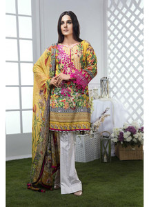Gulaal Embroidered Lawn Unstitched 3 Piece Suit GL17M 07