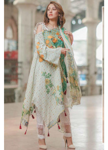 Rang Rasiya Embroidered Lawn Unstitched 3 Piece Suit RGR17C 146A