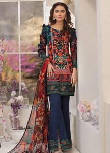 Gulaal Embroidered Lawn Unstitched 3 Piece Suit GL19C V1 03 - Lawn Collection