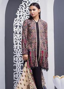 Orient Textile Printed Linen Unstitched 3 Piece Suit OT18W 184B Kashmiri - Winter Collection