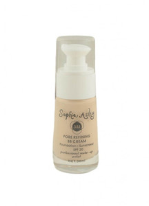 Sophia Asley 3 in 1 Pore Refining BB Cream Foundation , Sunscreen SPF20 - 3 Light Ivory